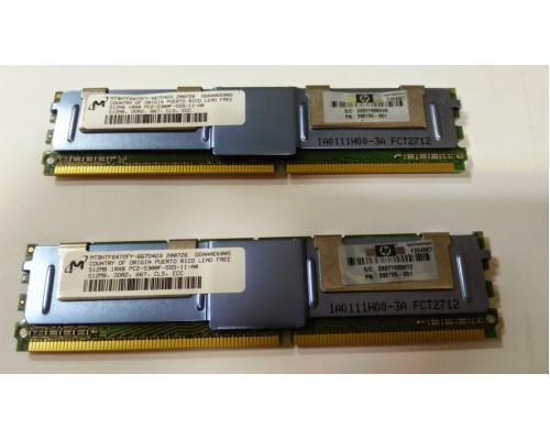 Модуль памяти Micron 512Mb DDR2 PC2-5300F Б.У.